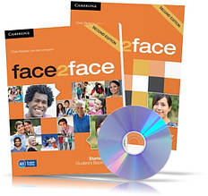 Face2face Starter, student's + DVD + Workbook / Підручник + Зошит (комплект) англійської мови