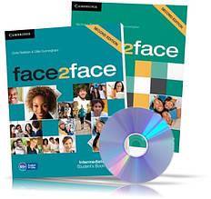 Face2face Intermediate, student's + DVD + Workbook / Підручник + Зошит (комплект) англійської мови