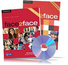 Face2face Elementary, student's + DVD + Workbook / Підручник + Зошит (комплект) англійської мови