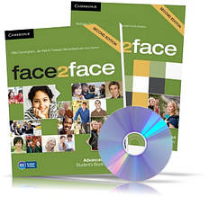 Face2face Advanced, student's + DVD + Workbook / Підручник + Зошит (комплект) англійської мови