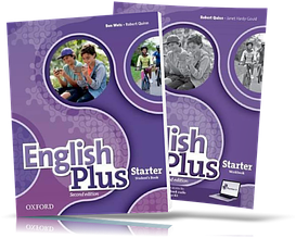 English Plus Starter, Student's book + Workbook / Учебник + Тетрадь английского языка