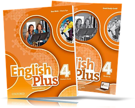 English Plus 4, Student's + Workbook / Учебник+Тетрадь английского языка