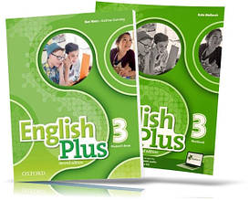 English Plus 3, Student's book + Workbook / Учебник + Тетрадь английского языка