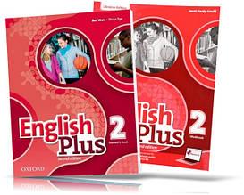English Plus 2, student's book + Workbook / Підручник + Зошит англійської мови