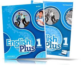 English Plus 1, student's book + Workbook / Підручник + Зошит англійської мови