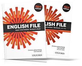 English File Upper-Intermediate, Student's book + Workbook / Учебник + Тетрадь английского языка