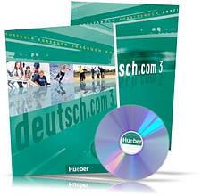 Deutsch.com 3, Arbeitsbuch + Kursbuch + CD / Учебник + Тетрадь (комплект с диском) немецкого языка