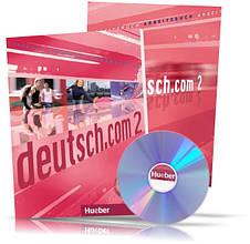 Deutsch.com 2, Arbeitsbuch + Kursbuch + CD / Учебник + Тетрадь (комплект с диском) немецкого языка
