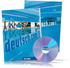 Deutsch.com 1, Arbeitsbuch + Kursbuch + CD / Учебник + Тетрадь (комплект с диском) немецкого языка