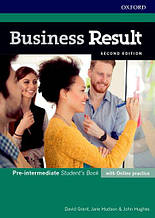 Business Result Second Edition Pre-intermediate Student's Book / Учебник | Oxford