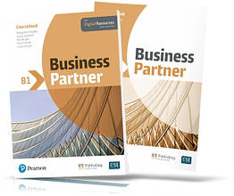 Business Partner B1, Coursebook + Workbook / Підручник + Зошит англійської мови