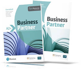 Business Partner A2+, Coursebook + Workbook / Підручник + Зошит англійської мови