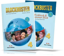 Blockbuster 4, student's book + Workbook / Підручник + Зошит (комплект) англійської мови