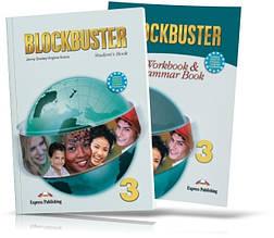 Blockbuster 3, student's book + Workbook / Підручник + Зошит (комплект) англійської мови