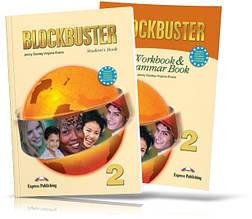 Blockbuster 2, student's book + Workbook / Підручник + Зошит (комплект) англійської мови