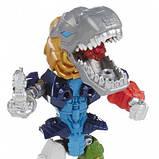 Игрушка-конструктор Гримлок с подсветкой - Electronic Grimlock, Mashers, Hasbro SKL14-138315, фото 4