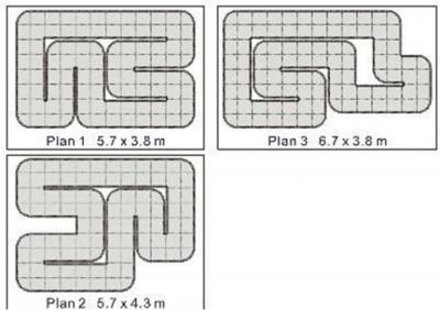 Трек Firelap LXX-2 24 м2 для автомоделей, масштаб 1к28 SKL17-139683