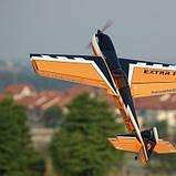 Самолёт Precision Aerobatics Extra MX Kit на радиоуправлении 1472мм желтый SKL17-139837, фото 2