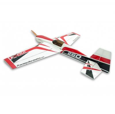 Самолёт Precision Aerobatics Extra 260 Kit на радиоуправлении 1219мм красный SKL17-139839