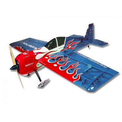 Самолёт Precision Aerobatics Addiction X Kit на радиоуправлении 1270мм синий SKL17-139853