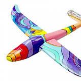 Планер метательный J-Color Hawk 600мм c комплектом красок SKL17-139871, фото 6
