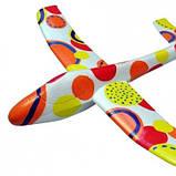 Планер метательный J-Color Osprey 600мм c комплектом красок SKL17-139872, фото 6