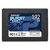 """SSD 1.92 TB Patriot Burst Elite 2.5"""" SATAIII 3D TLC (PBE192TS25SSDR)"""