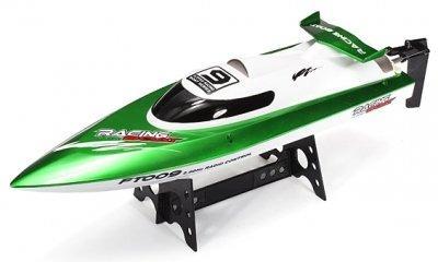 Катер Fei Lun FT009 High Speed Boat, на радиоуправлении 2,4GHz зеленый SKL17-139894