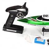 Катер Fei Lun FT009 High Speed Boat, на радиоуправлении 2,4GHz зеленый SKL17-139894, фото 8