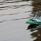 Катер Fei Lun FT009 High Speed Boat, на радиоуправлении 2,4GHz зеленый SKL17-139894, фото 9