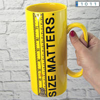 Кружка Гигант Size Matters 20cм (1л)