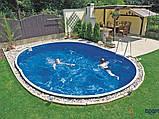 Сборный бассейн Azuro DE LUXE 404DL Mistry (550 х 370 х 120 см), Металлический бассейн, Овальная, 550 х 370 х, фото 6