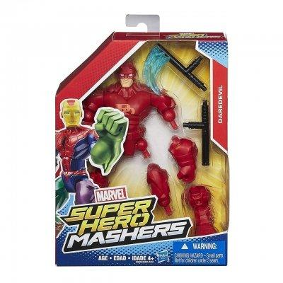 Разборная фигурка супергероя Сорвиголова - Daredevil, Marvel, Mashers, Hasbro SKL14-143165