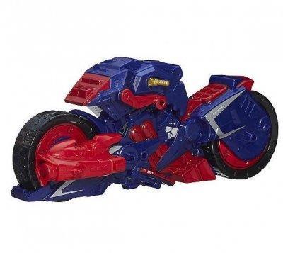 Мотоцикл Капитана Америка из серии разборных супергероев - Captain America Motorcycle, Mashers SKL14-143166