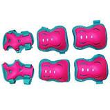 Комплект защитный SportVida SV-KY0002-L Size L Blue-Pink SKL41-227691, фото 6