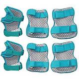 Комплект защитный SportVida SV-KY0002-M Size M Blue-Pink SKL41-227692, фото 2