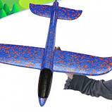 Метательный самолет планер KS Touch Sky Plane Original G1 48 см SKL25-145879, фото 7