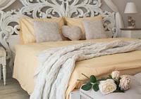 Комплект постельного белья Prestige Евро Silver 200х220 см жёлтый SKL29-150472
