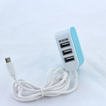 Зарядное устройство адаптер 8600 3 Usb Micro v8 SKL11-189638