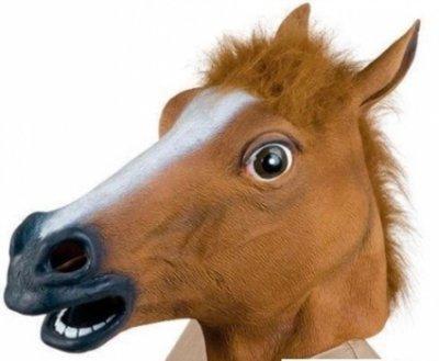 Маска голова лошади, коня SKL32-189884
