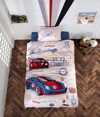 Подростковое постельное белье Aran Clasy Garage 160x220 SKL53-239720