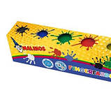 Краски Malinos пальчиковые Fingerfarben непроливаемые, в наборе 6 цветов SKL17-149642, фото 3