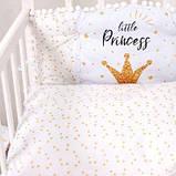 Детский постельный набор Бэйби - принцесс сатин SKL20-240448, фото 5