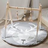 Одеяло коврик в детскую комнату Олененок SKL32-189981, фото 3
