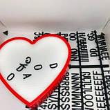 Ночник светильник Сердце Light up message board с посланием SKL32-189995, фото 3