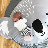 Одеяло коврик в детскую комнату Коала SKL32-218573, фото 4