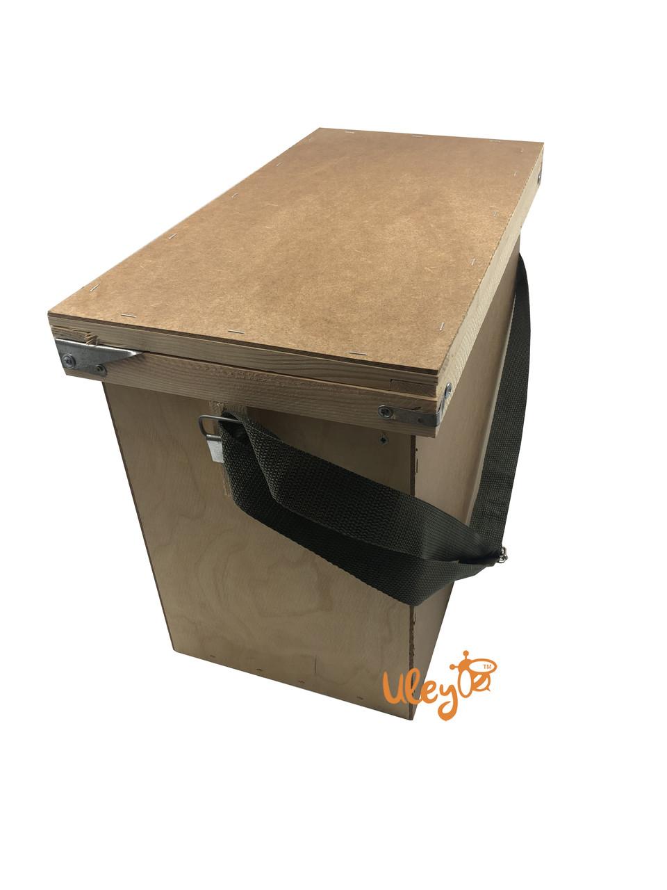 Ящик рамковий для 6-ти рамок Дадан або 12 полурамок (Рамконос)