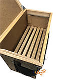 Ящик рамковий для 6-ти рамок Дадан або 12 полурамок (Рамконос), фото 2