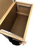 Ящик рамковий для 6-ти рамок Дадан або 12 полурамок (Рамконос), фото 3