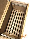 Ящик рамковий для 6-ти рамок Дадан або 12 полурамок (Рамконос), фото 4